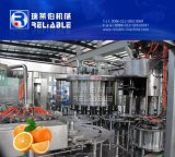 Chaîne de production remplissante de jus de fruits orange automatique de bouteille machine