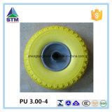Rodas plásticas duráveis personalizadas do plutônio da borda