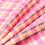 Ткань проверок полиэфира 50%Wool 50% шерстяная для шинели