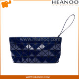La triangle de prisme de bourse d'emballage de dames forme le sac de soirée