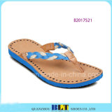 Sky azul Beach Pieza Slippers para Women