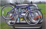 Steel Hitch Bike Carrier para esportes ao ar livre Rear Bike Carrier