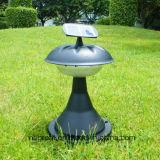 Éclairage LED solaire au sol extérieur de jardin