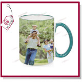 Colorful RimおよびHandleの15oz Blank Sublimation Mugs