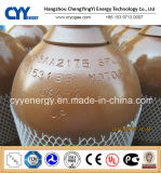 50L Helium Oxygen Nitrogen Lar CNG Acetylene CO2 Hydrogeen CNG 150bar/200bar Seamless Steel Gas Cylinder