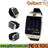 인조 인간을%s Gelbert Q18s Bluetooth 지능적인 시계 이동 전화