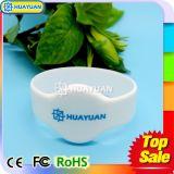 Bracelete do Wristband do silicone do nível MIFARE DESFire EV1 2K RFID da alta segurança para o sistema de pagamento de Cashless
