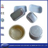 新しく環境に優しく使い捨て可能なアルミホイルの耐熱の深皿