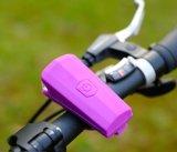 Luz recargable de la bicicleta del USB LED del ciclo de la antorcha de la lámpara impermeable de la bici