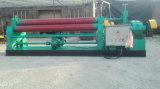 3 Hoja de rodillos metálicos de la máquina de flexión simétrica mecánica placa de rodadura máquina eléctrica 3 Rodillos Placa máquina dobladora