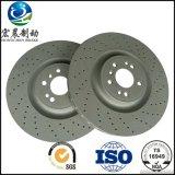 Autoteil-Bremsen-Platten bohrten Hochleistungs- ISO