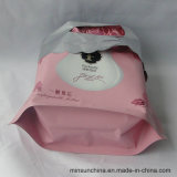 Подгонянный подарок PE печатание логоса кладет пластмассу в мешки с ручкой