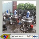 Caldera de cocinar vestida de la caldera de la sopa de la calefacción de gas del acero inoxidable