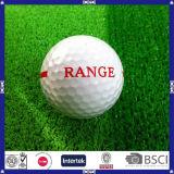 Boule de golf personnalisée de chaîne pilotante de 2 parties
