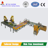 粘土の煉瓦生産ラインのためのフルオートのロボティックスタッキングシステム