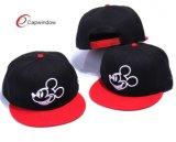 Chapéus feitos sob encomenda do Snapback do bordado 3D com fechamento ajustável