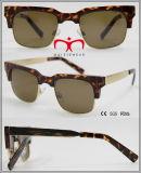 2016 óculos de sol de venda quentes elegantes com templo do metal (WSP601523)