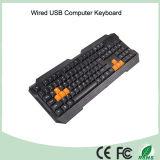 China-Fabrik Buttom Preis-kühler Entwurfs-normale verdrahtete Tastatur (KB-1688)