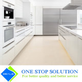 De nieuwe Lak van de Kleur van het Handvat van het Aluminium Witte beëindigt het Meubilair van Keukenkasten (ZY 1061)