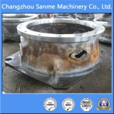 Подгонянная стальная отливка для частей дробилки частей частей машинного оборудования минирование/конической дробилки/челюсти