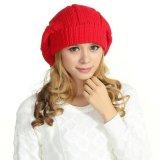 POM POM 100% Wolle-Häkelarbeit-Barettebeanie-Hüte