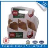 Contenitore impaccante di qualità superiore di scatola di presentazione di vetro di vino