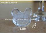Медведь и сформированная Wintersweet прессформа льда силиконовой резины домочадца