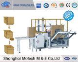 Montadores del rectángulo y rectángulo que erigen la máquina con el sistema de control del PLC (MK-8)