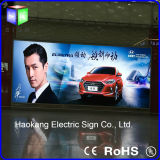 Backlit LED Light를 가진 큰 Aluminum Profile Advertizing Display