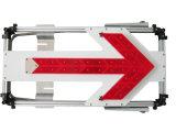 De Verkeersteken van de LEIDENE Richting van de Pijl