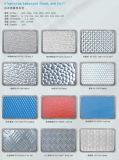 Il colore ha ricoperto bobina di alluminio/dell'alluminio impressa stucco per tetto
