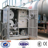 High Vacuum와 High Flow Rate를 가진 사용된 Transformer Oil Filtering Machine