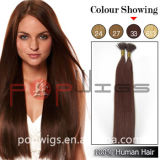 Qualidade que de cabelo humano de Hotselling boa eu derrubo personalizo a extensão do cabelo da cor