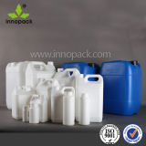 화학제품은 200ml, 250ml, 500ml 의 1L 플라스틱 HDPE Thermoinduction 물개를 가진 좁은 입을 병에 넣는다