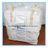 Sacos grandes tecidos PP transversais do canto FIBC com defletor para dentro