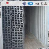 Het Q235B pre-Gegalvaniseerde Kanaal Van uitstekende kwaliteit van het Staal