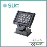 LED Outdoor Landscape Spot Light Fixture 13W、Compact Design、Corded、Outdoor Lawn Useのすべて天候Proof、Single ColorおよびRGB (SLS-08)