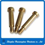 Brass Connector Hardware CNC Turning Usining Mechanical Parts