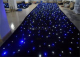 фон СИД Curtain Light 2m * 3m Blue&White Fireproof Flexible с Controller для Wedding/DJ