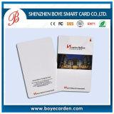 Cartão Printable da identificação do Em da proximidade da microplaqueta RFID 125kHz do plástico Em4100