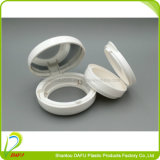 Runde Form-Vertrags-Kosmetik, die mit Spiegel verpackt