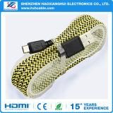Fabrik-Preis für super schnelles aufladenflechte Mikro-USB-Kabel