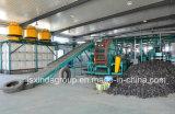 선을 재생하는 Xinda 타이어 재생 공장 전체적인 작은 조각 자동적인 타이어