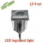 정원 Steps Stairs 안뜰 Paver Lighting를 위한 1W 3W 12V IP68 LED Floor Lamp RGB Decorative Lamp