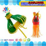 Les jouets intellectuels de jouets de synthons, bureau en plastique coloré bloque le jouet