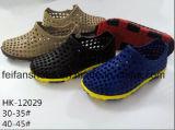 Выдолбите вне ботинки с удобным ЕВА, Unisex тапочки сада отдыха, напольные сандалии