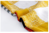 Überprüfte gedruckte Twill-dickflüssige Dame Fashion Scarf (YKY1123)