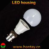 Carcaça plástica do diodo emissor de luz do copo da lâmpada do bulbo A50/G50