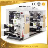 Машинное оборудование печатание полиэтиленовой пленки 4 цветов Flexographic