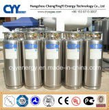 Industrial e Medical Dewar Cryogenic Cylinder com ISO de ASME